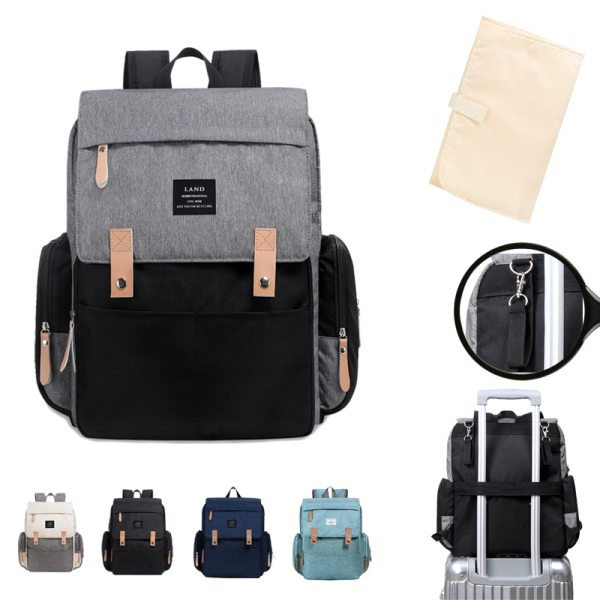 LAND Mommy Diaper Bags Landuo Mother Large Capacity Travel Nappy Backpacks with changing mat Convenient Baby LAND Mommy Diaper Bags Landuo Mother Large Capacity Travel Nappy Backpacks with changing mat Convenient Baby Nursing Bags MPB86
