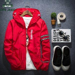 AFS JEEP Spring Autumn Thin Windbreaker Jacket Men Plus Size M 4XL jaqueta masculina Slim Fit Innrech Market.com