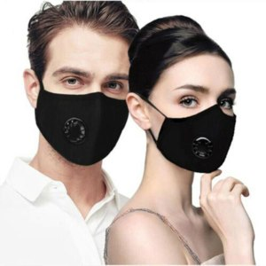 Anti pollution Mask Dust PM2 5 Respirator Reusable Facemask With Activated Carbon Filter 4 Colors Face Innrech Market.com