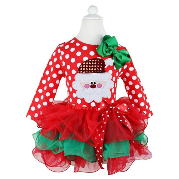Fancy New Year Baby Girl Carnival Santa Dress For Girls Summer Minnie Mouse Holiday Children Clothing 3 Fancy New Year Baby Girl Carnival Santa Dress For Girls Summer Minnie Mouse Holiday Children Clothing Party Tulle Kids Costume