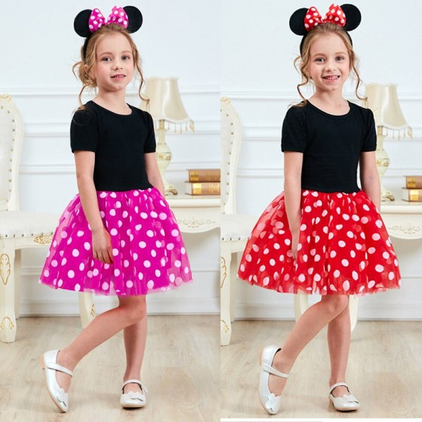 Fancy New Year Baby Girl Carnival Santa Dress For Girls Summer Minnie Mouse Holiday Children Clothing 5 Fancy New Year Baby Girl Carnival Santa Dress For Girls Summer Minnie Mouse Holiday Children Clothing Party Tulle Kids Costume