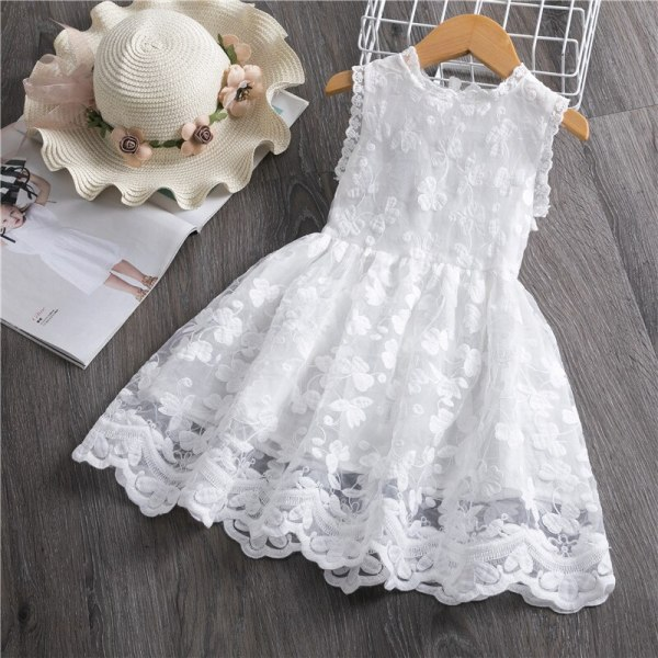 Girls Dress 2019 New Summer Brand Girls Clothes Lace And Ball Design Baby Girls Dress Party 1 Girls Dress 2019 New Summer Brand Girls Clothes Lace And Ball Design Baby Girls Dress Party Dress For 3-8 Years Infant Dresses