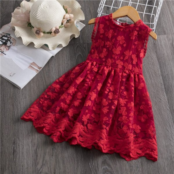 Girls Dress 2019 New Summer Brand Girls Clothes Lace And Ball Design Baby Girls Dress Party 3 Girls Dress 2019 New Summer Brand Girls Clothes Lace And Ball Design Baby Girls Dress Party Dress For 3-8 Years Infant Dresses