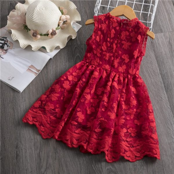 Girls Dress 2019 New Summer Brand Girls Clothes Lace And Ball Design Baby Girls Dress Party 4 Girls Dress 2019 New Summer Brand Girls Clothes Lace And Ball Design Baby Girls Dress Party Dress For 3-8 Years Infant Dresses