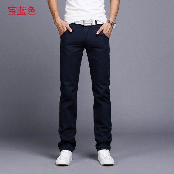 TANGYAXUAN New Design Casual Men pants Cotton Slim Pant Straight Trousers Fashion Business Solid Khaki Black 1 TANGYAXUAN New Design Casual Men pants Cotton Slim Pant Straight Trousers Fashion Business Solid Khaki Black Pants Men 28-38