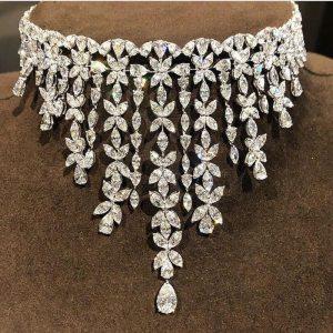jankelly luxury 2pcs Bridal Zirconia Jewelry Sets For Women Party Luxury Dubai Nigeria CZ Crystal Wedding 1 Innrech Market.com