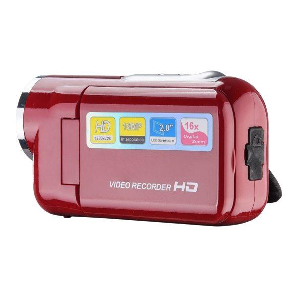 2019 Video Camcorder HD 720P Handheld Digital Camera 4x Digital Zoom 2 0 inch 28 1 2019 Video Camcorder HD 720P Handheld Digital Camera 4x Digital Zoom 2.0 inch 28#