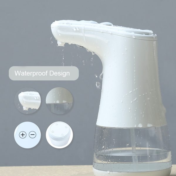 Automatic Alcohol Spray Dispenser Touchless Alcohol Sanitizer Disinfectant Liquid Sope Dispensers IR Sensor Bottle for Bathroom 2 Automatic Alcohol Spray Dispenser Touchless Alcohol Sanitizer Disinfectant Liquid Sope Dispensers IR Sensor Bottle for Bathroom