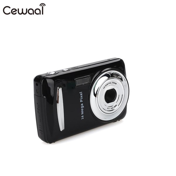 Cewaal Black Ultra Photo 1 6MP 1080P HD Digital Camera DVR 16MP 1080P HD Camera Precise Cewaal Black Ultra Photo 1.6MP 1080P HD Digital Camera DVR 16MP 1080P HD Camera Precise Video Recorder 16MP 1080P Camera DV