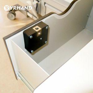Electronic Keyless Digital Door Lock Invisible RFID Locker Card hidden Lock for Private Drawer wardrobe cabinet Innrech Market.com