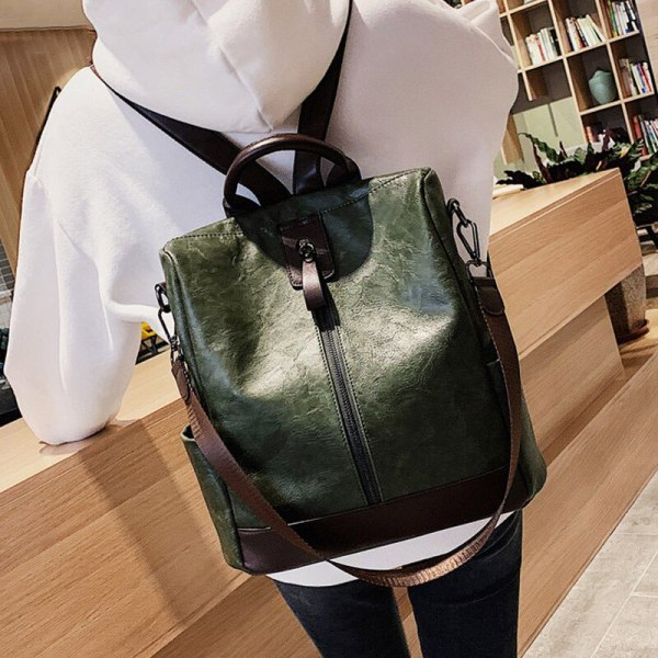 Fashion Women High Quality Leather Backpack Multifunction Leatherett Backpack For Female Big Bookbag Travel Bag Sac 4 Fashion Women High Quality Leather Backpack Multifunction Leatherett Backpack For Female Big Bookbag Travel Bag Sac A Dos XA279H