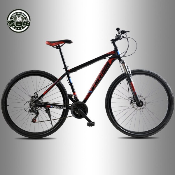 Love Freedom High Quality 29 Inch Mountain Bike 21 24 Speed Aluminum Frame Bicycle Front And 3 Love Freedom High Quality 29 Inch Mountain Bike 21/24 Speed Aluminum Frame Bicycle Front And Rear Mechanical Disc Brake