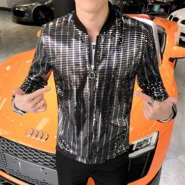 Men Jacket Fashion 2019 Bomber Jacket Long Sleeve Summer Sun Protection Clothing Slim Fit chaqueta hombre 1 Men Jacket Fashion 2019 Bomber Jacket Long Sleeve Summer Sun Protection Clothing Slim Fit chaqueta hombre Streetwear Windbreaker