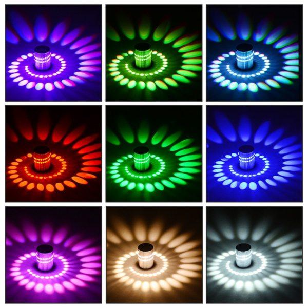 Modern LED Ceiling Light 3W RGB Porch Lamp Surface Mount Flush Lighting Fixture Balcony Corridors Living 4 Modern LED Ceiling Light 3W RGB Porch Lamp Surface Mount Flush Lighting Fixture Balcony Corridors Living Room Decor