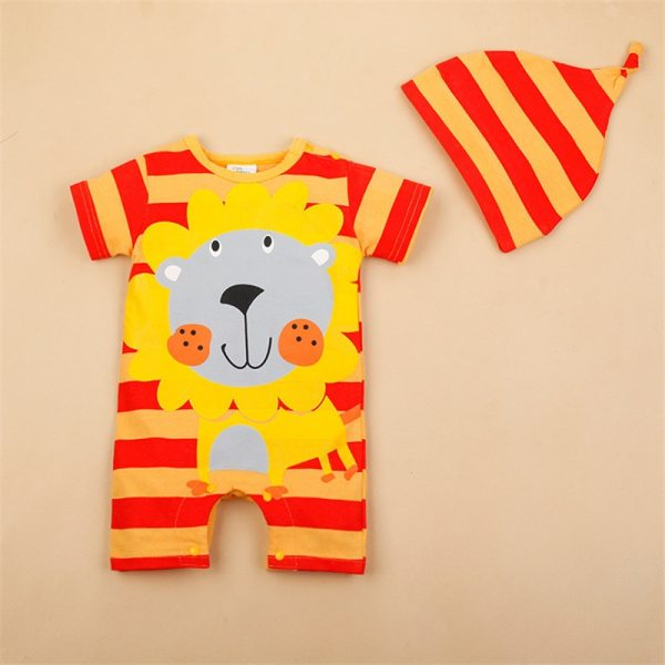 Newborn baby cotton rompers lovely Rabbit ears baby boy girls short sleeve baby costume Jumpsuits Roupas 3 Newborn baby cotton rompers lovely Rabbit ears baby boy girls short sleeve baby costume Jumpsuits Roupas Bebes Infant Clothes