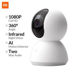 Original Xiaomi Mijia IP Camera Wifi 2MP 1080P HD 360 Degree Infrared Night Vision Wireless Smart Innrech Market.com