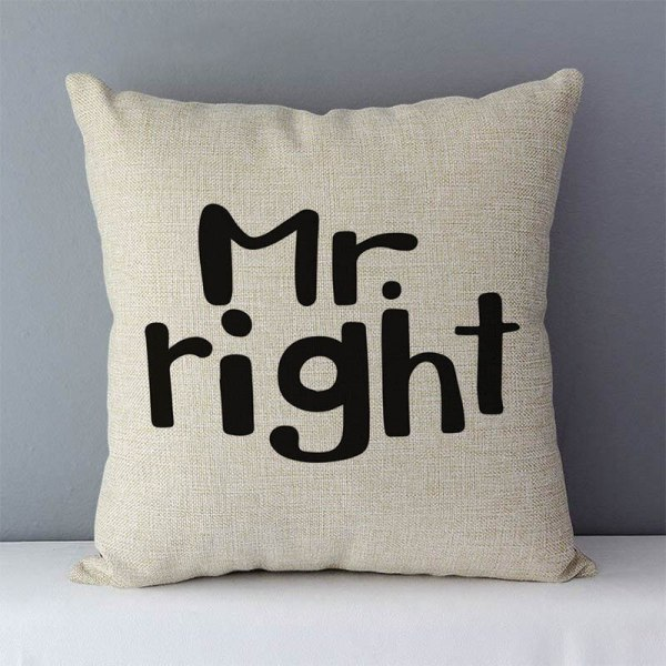 """Popular phrase words letters printed couch cushion home decorative pillows 45x45cm cotton linen square cushions Love 2 Popular phrase words letters printed couch cushion home decorative pillows 45x45cm cotton linen square cushions """"Love you more"""""""