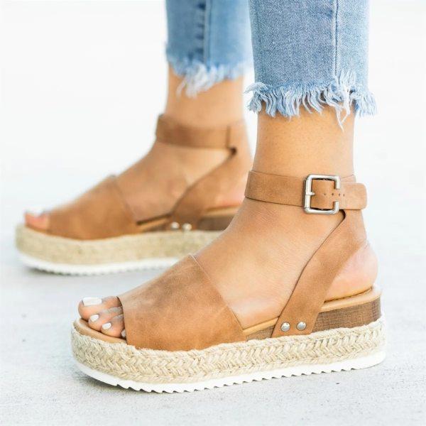 Women Sandals Plus Size Wedges Shoes For Women High Heels Sandals Summer Shoes 2019 Flip Flop Women Sandals Plus Size Wedges Shoes For Women High Heels Sandals Summer Shoes 2019 Flip Flop Chaussures Femme Platform Sandals