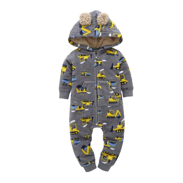 kid boy girl Long Sleeve Hooded Fleece jumpsuit overalls red plaid Newborn baby winter clothes unisex 2 kid boy girl Long Sleeve Hooded Fleece jumpsuit overalls red plaid Newborn baby winter clothes unisex new born costume 2019