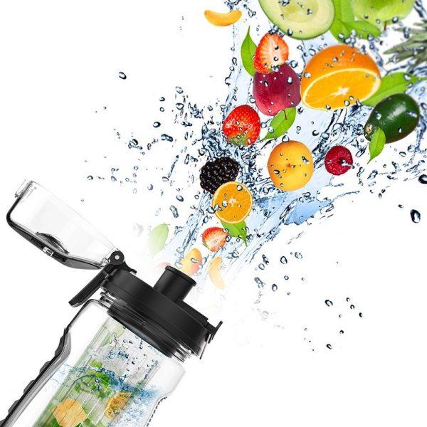1L Portable water bottle Tritan Drinkware Bottle Fruit Infuser Bottle Juice Shaker travel Sport Water Bottle 4 1L Portable water bottle Tritan Drinkware Bottle Fruit Infuser Bottle Juice Shaker travel Sport Water Bottle detox bottle