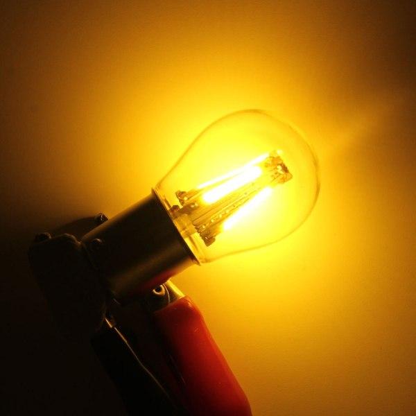 1pcs 1156 P21W BA15S 1157 BAY15D COB LED Filament Chip Car Brake Lights Auto Reverse Bulb 3 1pcs 1156 P21W BA15S 1157 BAY15D COB LED Filament Chip Car Brake Lights Auto Reverse Bulb Parking Lamp 12V Red White Yellow