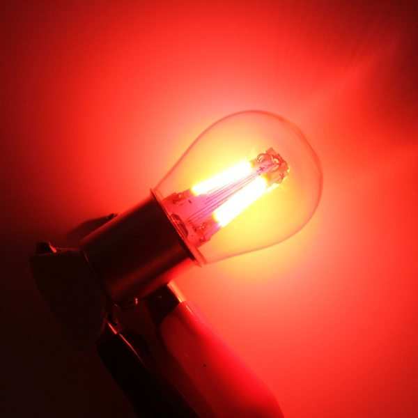 1pcs 1156 P21W BA15S 1157 BAY15D COB LED Filament Chip Car Brake Lights Auto Reverse Bulb 4 1pcs 1156 P21W BA15S 1157 BAY15D COB LED Filament Chip Car Brake Lights Auto Reverse Bulb Parking Lamp 12V Red White Yellow