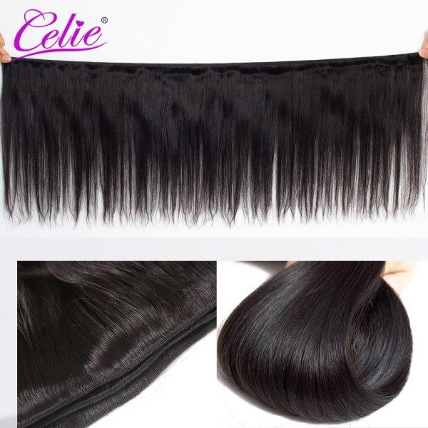 Celie Hair Brazilian Hair Weave Bundles With Closure Straight Hair Bundles With Closure Remy Human Hair 1 Celie Hair Brazilian Hair Weave Bundles With Closure Straight Hair Bundles With Closure Remy Human Hair Bundles With Closure