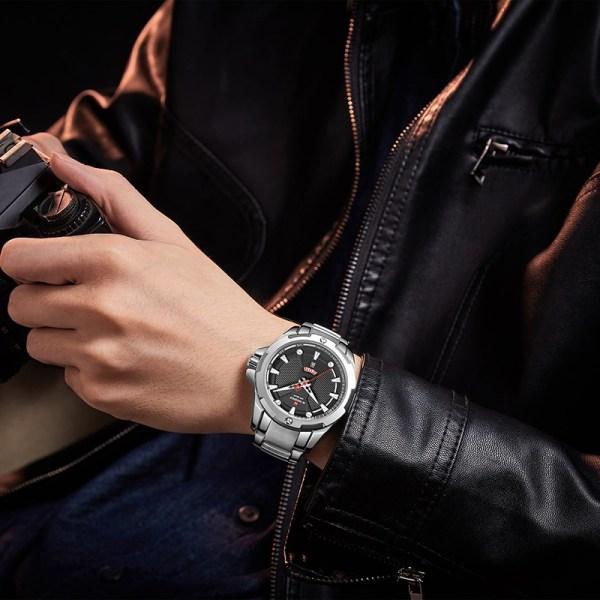 Men s Watches Top Luxury Brand NAVIFORCE Analog Watch Men Stainless Steel Waterproof Quartz Wristwatch Date 4 Men's Watches Top Luxury Brand NAVIFORCE Analog Watch Men Stainless Steel Waterproof Quartz Wristwatch Date Relogio Masculino