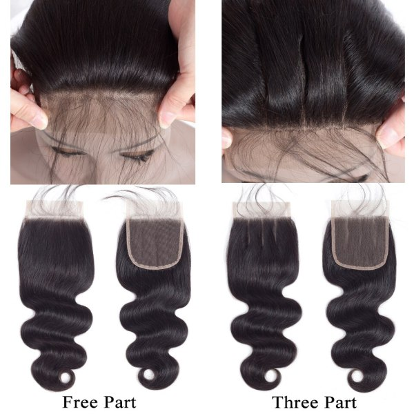 QueenLike Hair Products Brazilian Body Wave With Closure Non Remy Hair Weft Weaving 3 4 Bundles 3 QueenLike Hair Products Brazilian Body Wave With Closure Non Remy Hair Weft Weaving 3 4 Bundles Human Hair Bundles With Closure