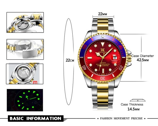 WEISIKAI Diver Watch Automatic Mechanical Watches Sports Top Brand Luxury Men s Diving Watches Male Wristwatch 2 WEISIKAI Diver Watch Automatic Mechanical Watches Sports Top Brand Luxury Men's Diving Watches Male Wristwatch Relogio Masculino