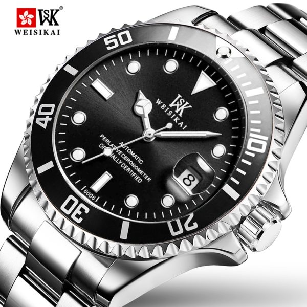 WEISIKAI Diver Watch Automatic Mechanical Watches Sports Top Brand Luxury Men s Diving Watches Male Wristwatch WEISIKAI Diver Watch Automatic Mechanical Watches Sports Top Brand Luxury Men's Diving Watches Male Wristwatch Relogio Masculino