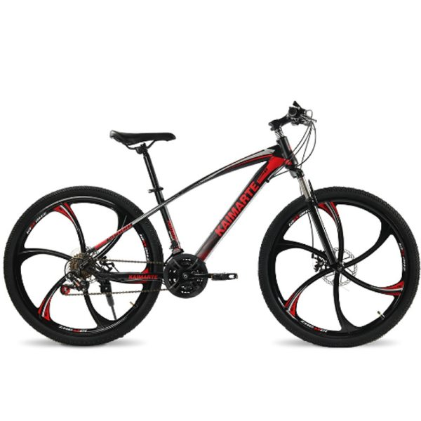 24 and 26 inch mountain bike 21 speed bicycle front and rear disc brakes bike with 4 24 and 26 inch  mountain bike 21 speed bicycle front and rear disc brakes bike with shock absorbing riding bicycle