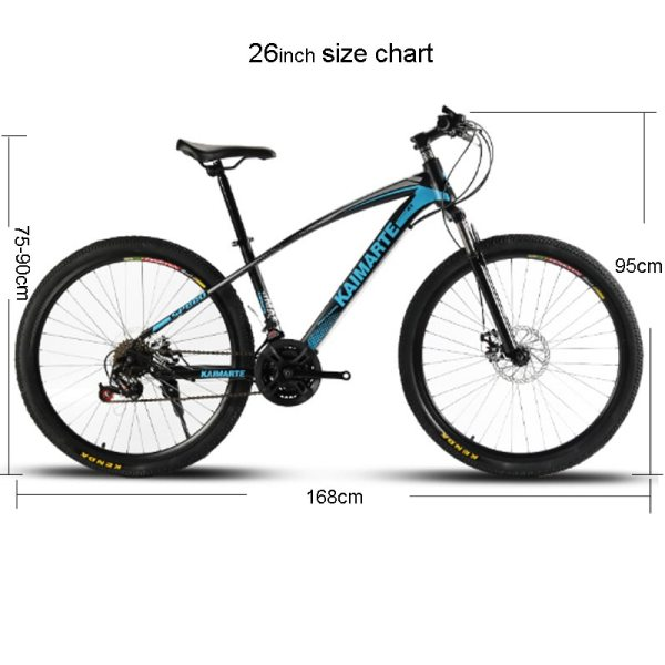 24 and 26 inch mountain bike 21 speed bicycle front and rear disc brakes bike with 5 24 and 26 inch  mountain bike 21 speed bicycle front and rear disc brakes bike with shock absorbing riding bicycle