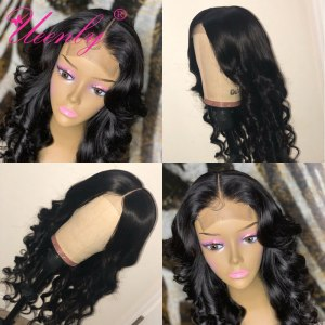 4x4 Closure Wig Brazilian Body Wave Lace Closure Human Hair Wigs Pre Plucked With Baby Hair Innrech Market.com