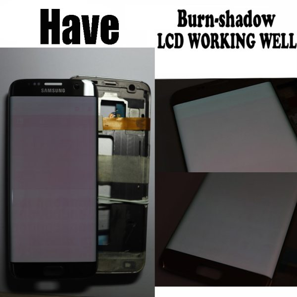 5 5 Replacement The Burn Shadow Display For SAMSUNG S7 Edge Pantalla G935 G935F LCD Screen 2 5.5'' Replacement The Burn-Shadow Display For SAMSUNG S7 Edge Pantalla G935 G935F LCD Screen Repair With Frame + Service Pack
