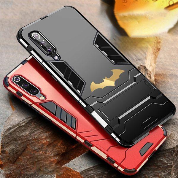 Bat Kickstand Case For Samsung Galaxy S9 S10 Plus S10e Note 9 Samsung A70 A50 A30 Bat Kickstand Case For Samsung Galaxy S9 S10 Plus S10e Note 9 Samsung A70 A50 A30 M30 M20 Shockproof Armor TPU + PC Tough Cover