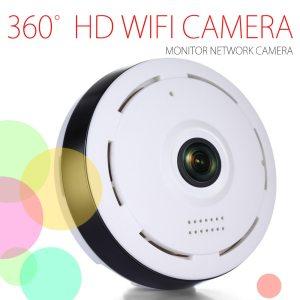 HD 360 Degree Panoramic Wide Angle MINI Cctv Camera Smart IPC Wireless Fisheye IP Camera P2P Innrech Market.com