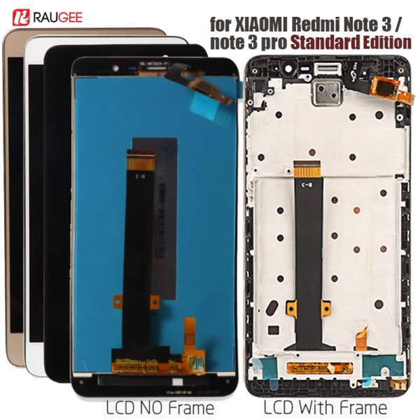 LCD Screen Touch Display with frame for Xiaomi Redmi Note 3 Pro Soft key Backlight for LCD Screen +Touch Display with frame for Xiaomi Redmi Note 3 Pro Soft-key Backlight for Redmi Note 3 Kenzo LCD Standard Edition