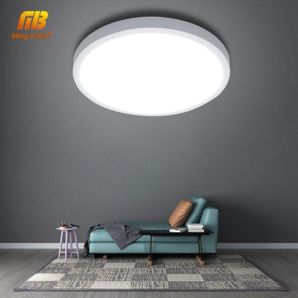 LED Panel Lamp LED Ceiling Light 48W 36W 24W 18W 13W 9W 6W Down Light Surface 3 LED Panel Lamp LED Ceiling Light 48W 36W 24W 18W 13W 9W 6W Down Light Surface Mounted AC 85-265V Modern Lamp For Home Lighting