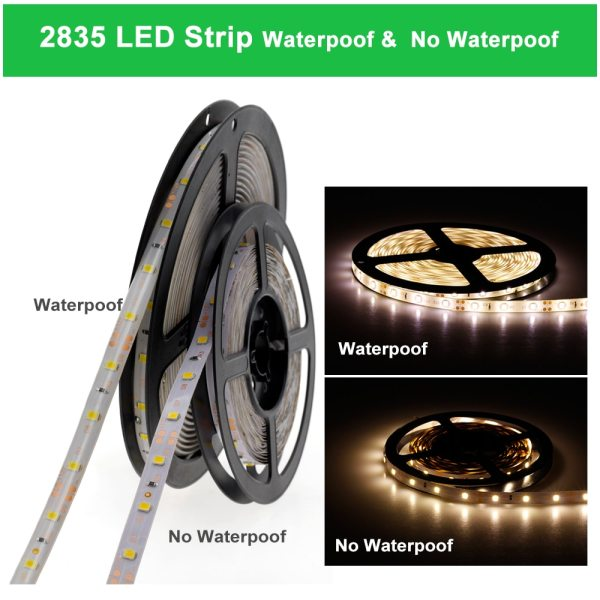 LED Strip 5050 2835 DC12V Flexible LED Light Tape 60LEDs M White Warm White Blue Green 3 LED Strip 5050 2835 DC12V Flexible LED Light Tape 60LEDs/M White / Warm White / Blue / Green / Red Waterproof RGB LED Strip 5M