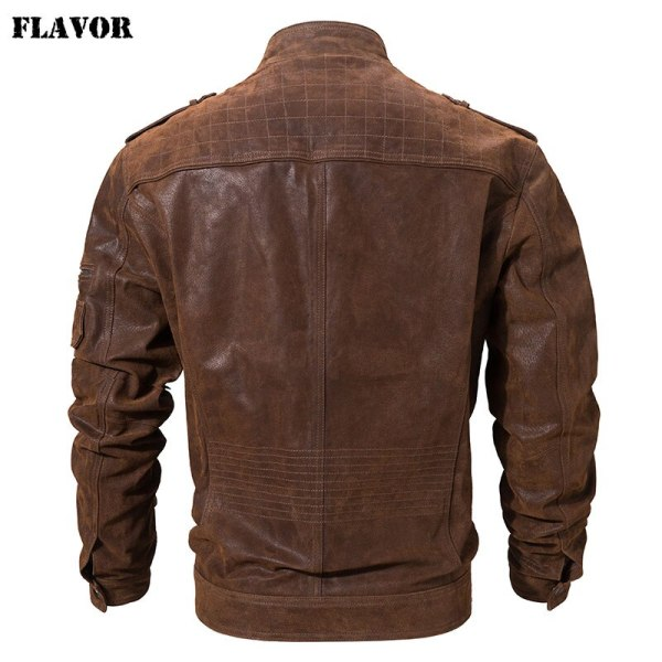 Men s Pigskin Real Leather Jacket Genuine Leather Jackets Motorcycle Jacket Coat Men 2 Men's Pigskin Real Leather Jacket Genuine Leather Jackets Motorcycle Jacket Coat Men