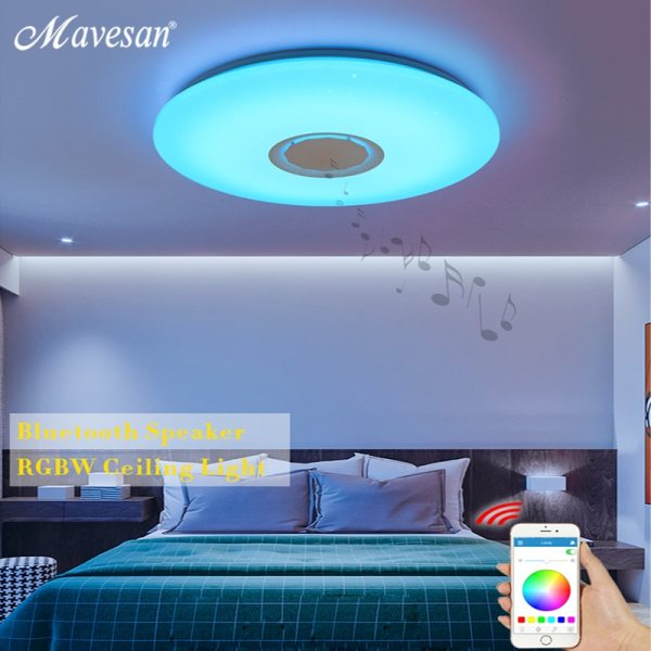 Music LED ceiling Lights RGB APP and Remote control ceiling lamp bedroom 25W 36W 52W living 2 Music LED ceiling Lights RGB APP and Remote control ceiling lamp bedroom 25W 36W 52W living room light lampara de techo