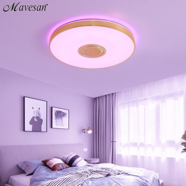 Music LED ceiling Lights RGB APP and Remote control ceiling lamp bedroom 25W 36W 52W living 4 Music LED ceiling Lights RGB APP and Remote control ceiling lamp bedroom 25W 36W 52W living room light lampara de techo