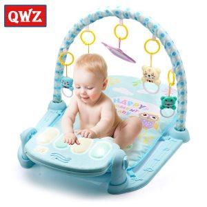 Play Mat Baby Gym Toys Gaming Carpet 0 12 Months Soft Lighting Rattles Children s Music Innrech Market.com