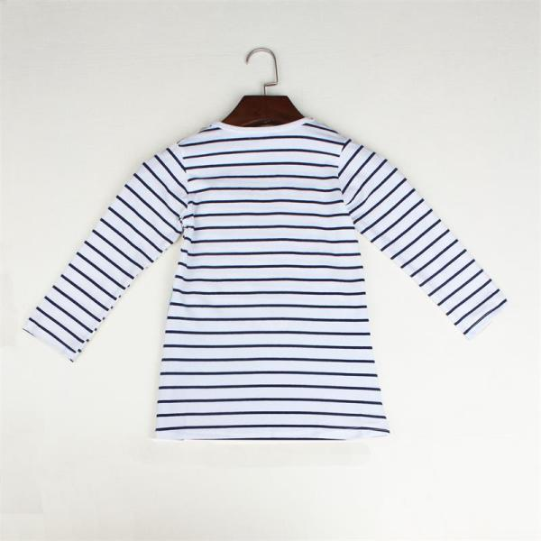TANGUOANT Striped Patchwork Character Girl Dresses Long Sleeve Cute Mouse Children Clothing Kids Girls Dress Denim 4 TANGUOANT Striped Patchwork Character Girl Dresses Long Sleeve Cute Mouse Children Clothing Kids Girls Dress Denim Kids Clothes