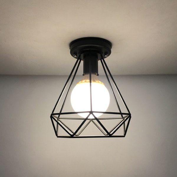 Vintage Ceiling Lamp For Living Room Bedroom Nordic Wrought Iron Retro Corridor Aisle For Living Room 3 Vintage Ceiling Lamp For Living Room Bedroom Nordic Wrought Iron Retro Corridor Aisle For Living Room Bar Ceiling Light