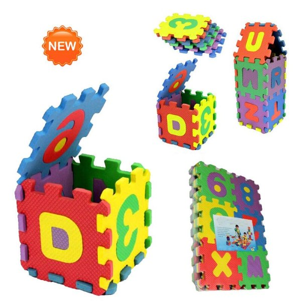 36Pcs ABC flashcards Baby Child Number Alphabet Puzzle Foam Maths Educational Toy Gift whole pack Foam 2 36Pcs ABC flashcards Baby Child Number Alphabet Puzzle Foam Maths Educational Toy Gift whole pack Foam Mat Toy HOOLER