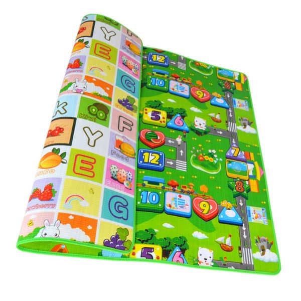 Baby Play Mat 0 5cm Thick Foldable Crawling Mat Double Surface Baby Carpet Rug Cartoon Developing Baby Play Mat 0.5cm Thick Foldable Crawling Mat Double Surface Baby Carpet Rug Cartoon Developing Mat for Children Game Playmat