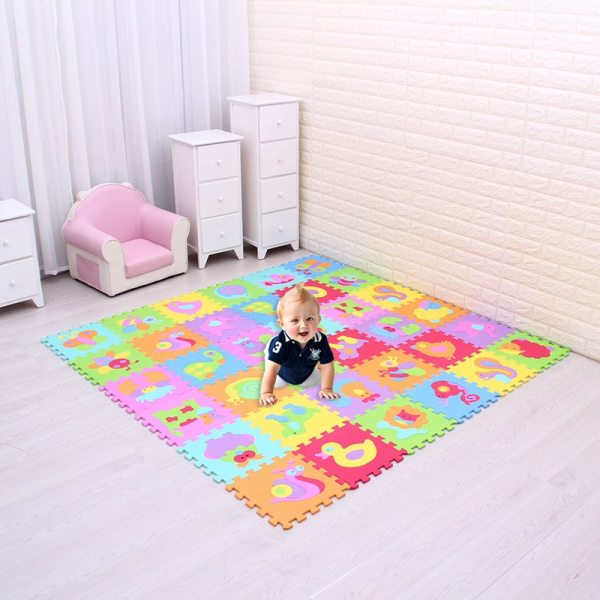EVA foam puzzlen baby play mat foam play Puzzle mat 18pcs 36pcs lot Interlocking Exercise TilesEach 1 EVA foam puzzlen/baby play mat foam play Puzzle mat / 18pcs/36pcs lot Interlocking Exercise TilesEach 30cmX30cm