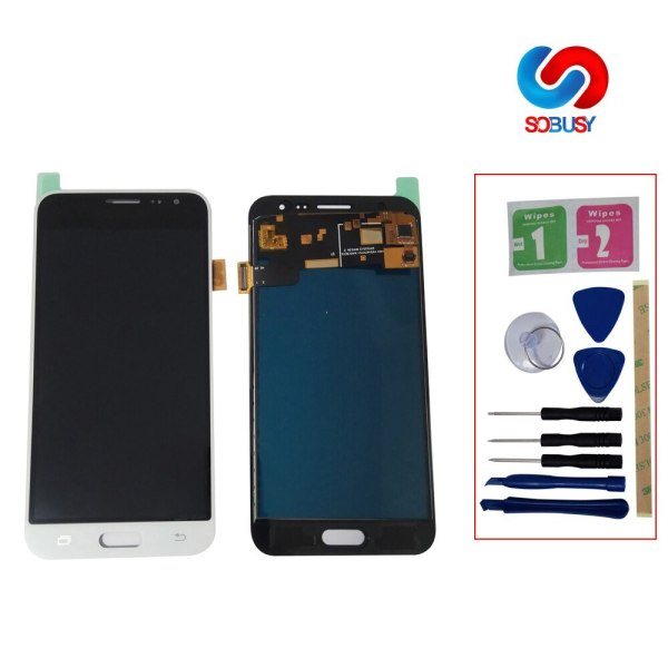 J320f lcd For SAMSUNG GALAXY J3 2016 J320 J320F SM J320F LCD Display Touch Screen Digitizer J320f lcd  For SAMSUNG GALAXY J3 2016 J320 J320F SM-J320F LCD Display Touch Screen Digitizer Assembly  LCD Pantalla Replace Part